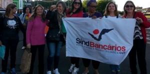 Bancárias na marcha