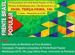 Frente Brasil Popular RS