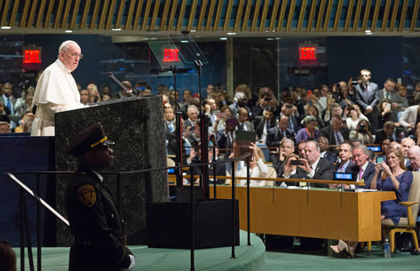 Papa na ONU1