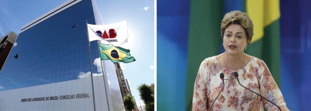 OAB e Dilma