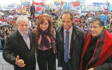 Lula e Cristina