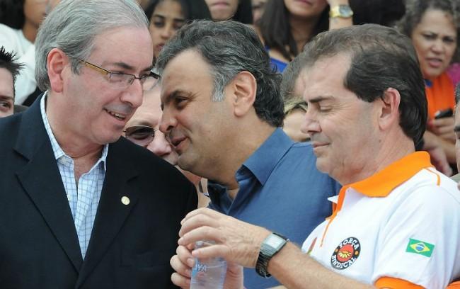 Cunha com Paulinho