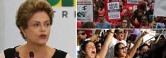 Dilma e esquerda