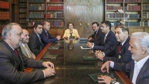 prefeitos com Dilma
