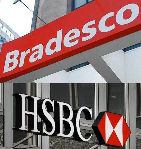 Bradesco e HSBC
