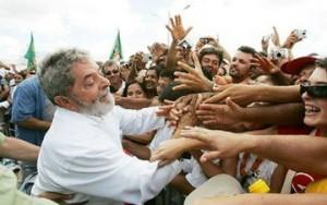 Lula com o povo