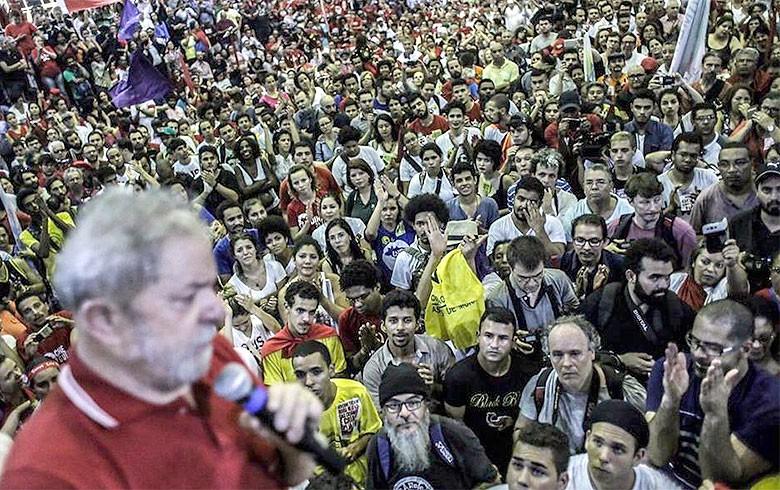 Lula na quadra