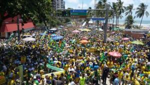 Protesto coxinha