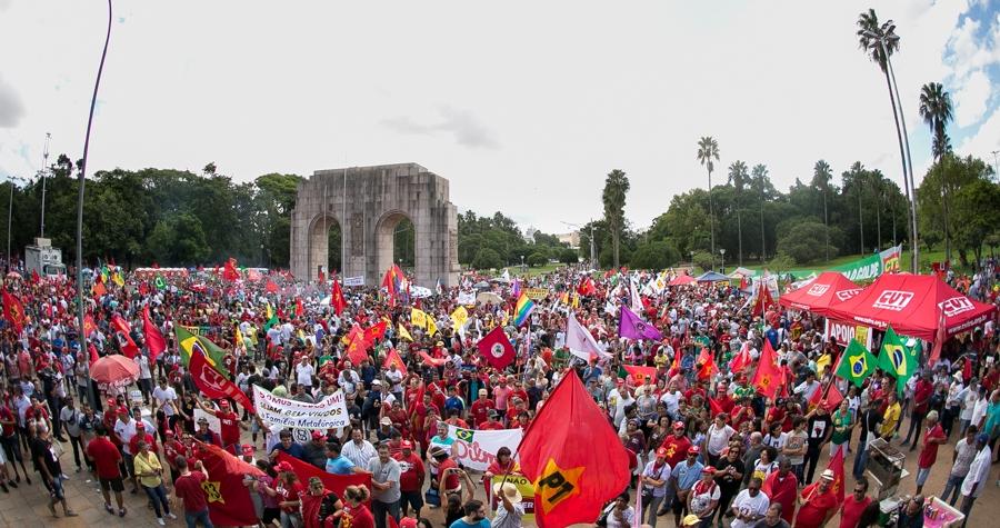 Coxinhaço na Redenção. Foto: Guilherme Santos/Sul21