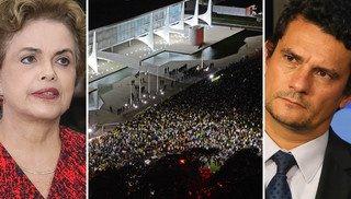 Dilma e Moro