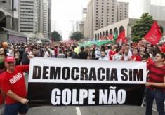 Democracia sim, golpe não