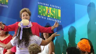 Dilma com mulheres