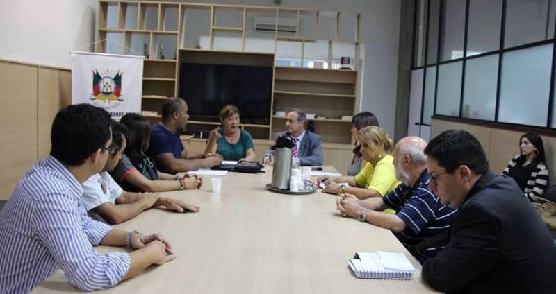 Reunião com Vieira