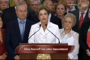 Dilma na saída