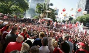 Dilma no 1º de maio