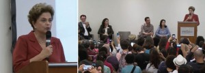 Dilma no encontro
