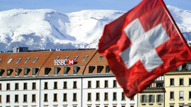 HSBC na Suíça