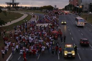 Marcha em Brasília