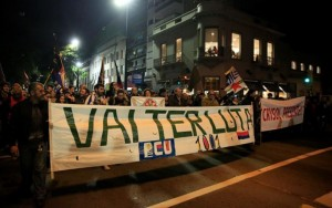 Uruguai protesta