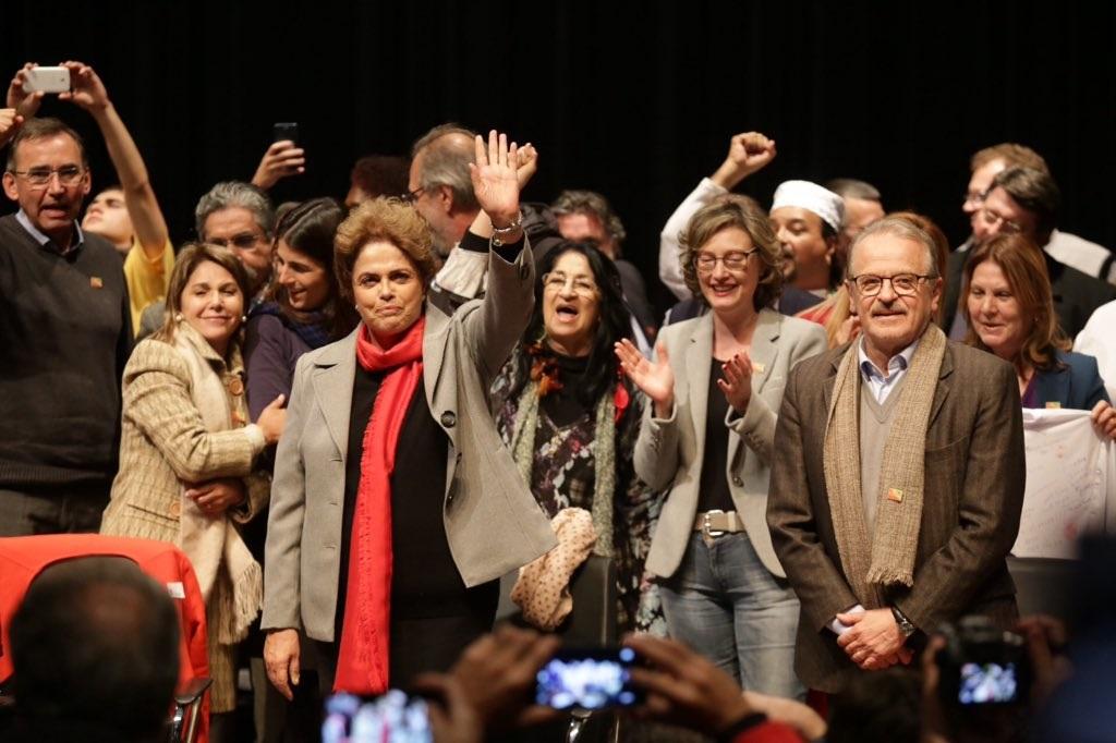 Dilma na Assembleia