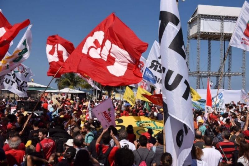 Ato em Copacabana