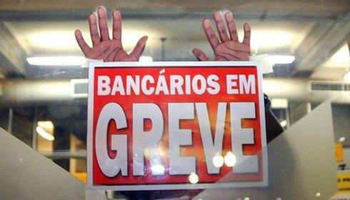 Bancários em greve