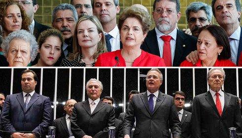 Dilma e Temer depois
