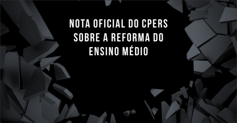 Nota do Cpers