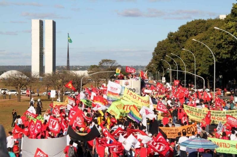 Mobilização em Brasília