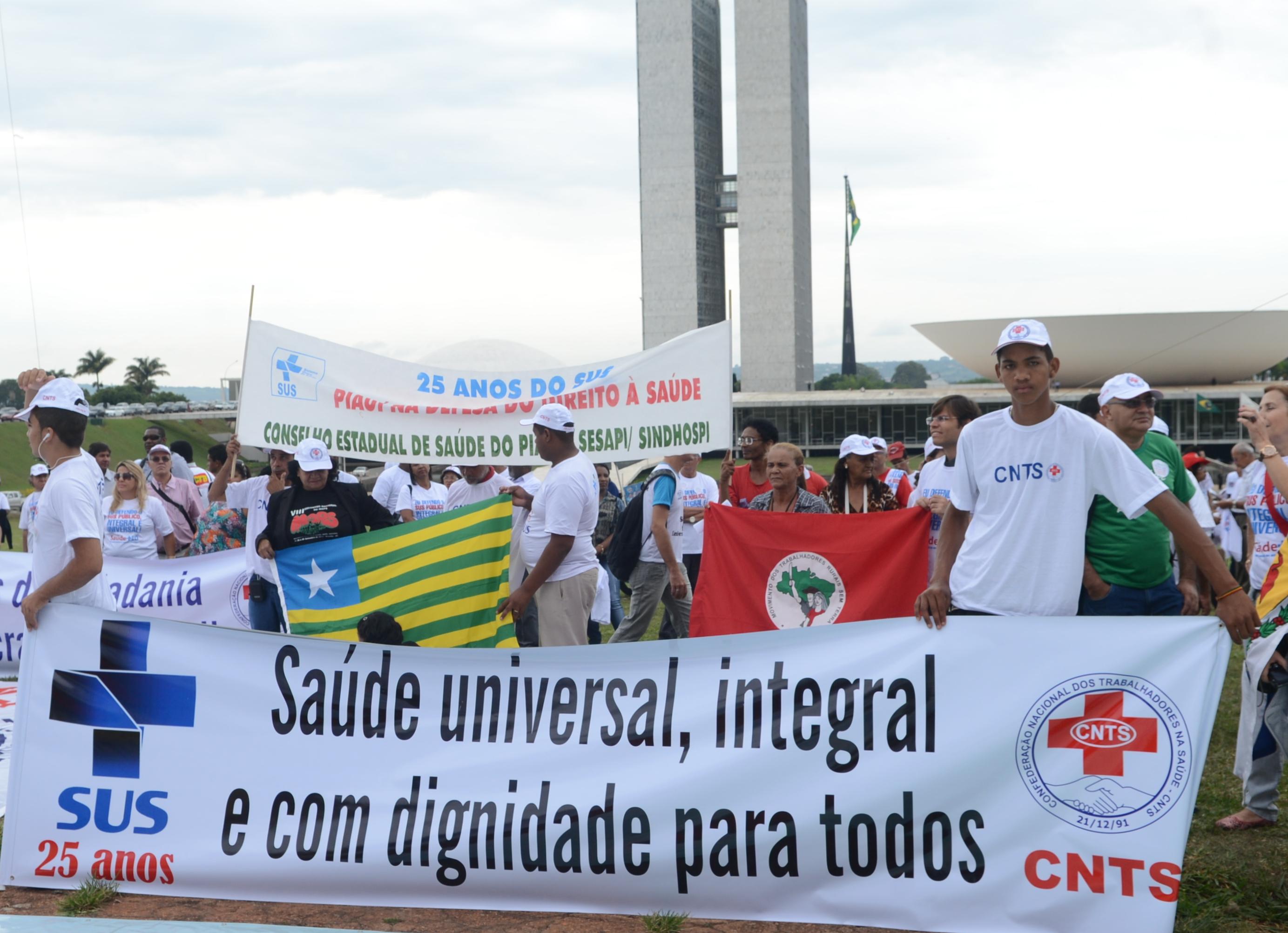 CAMPANHA NACIONAL EM DEFESA DO SUS