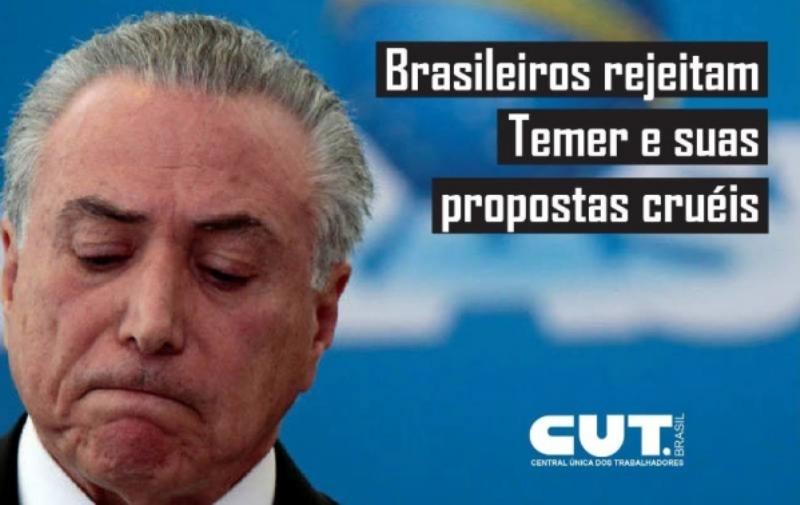 Brasileiros rejeitam