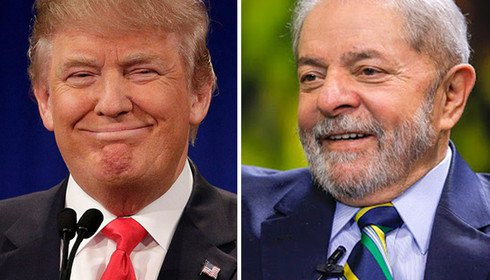 Lula e Trump