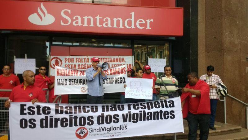 Santander almoço1