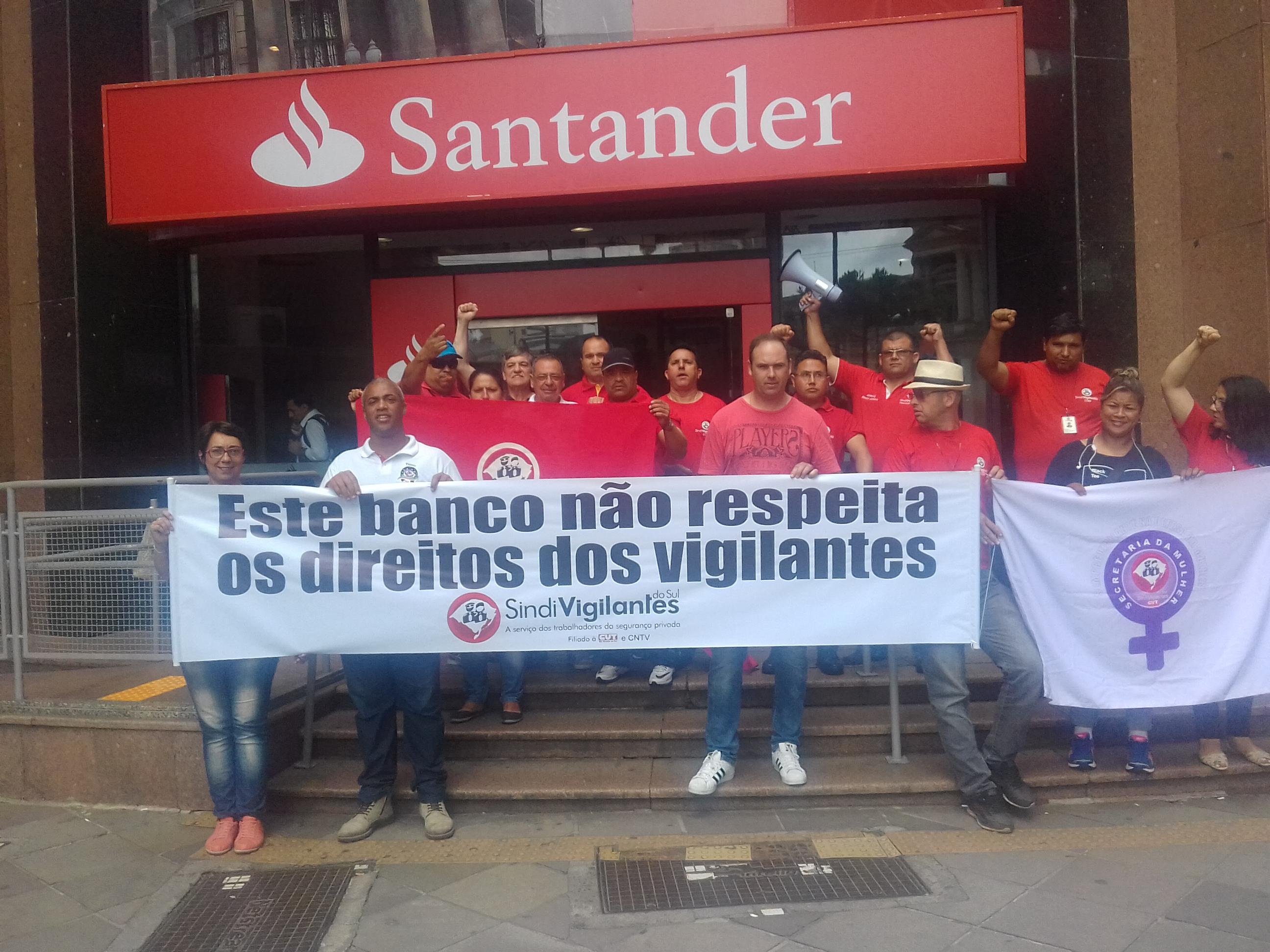 Santander vigilantes