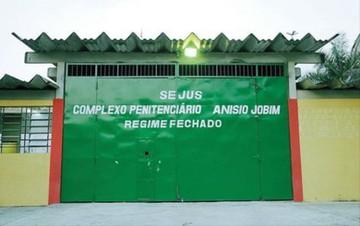 Pavilhão de presos