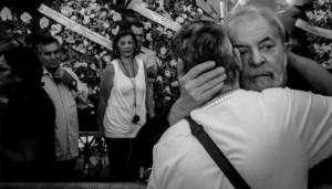 Lula no velório