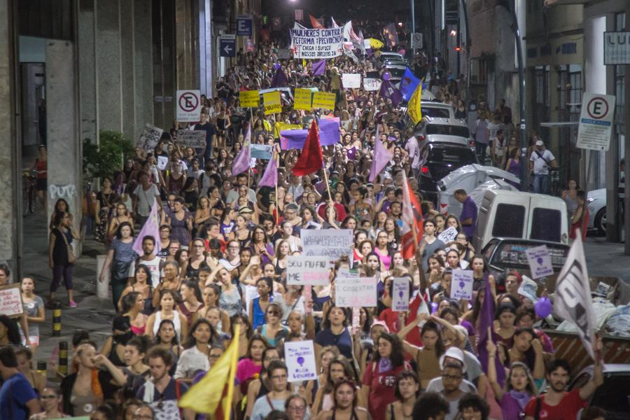 marcha de mulheres 0803