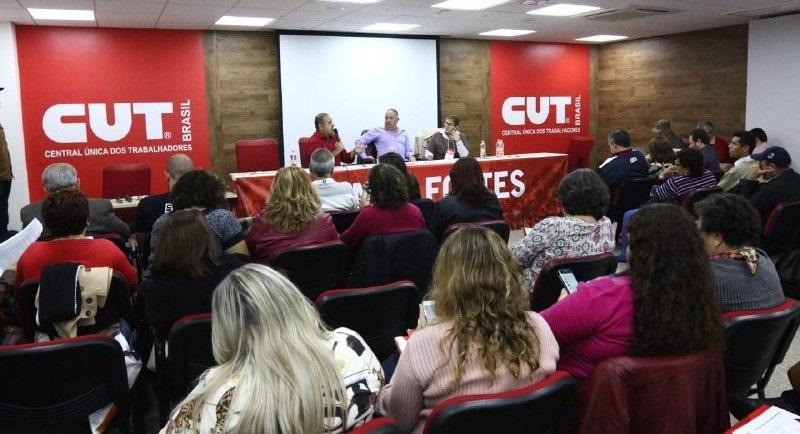 Reunião da CUT Nacional
