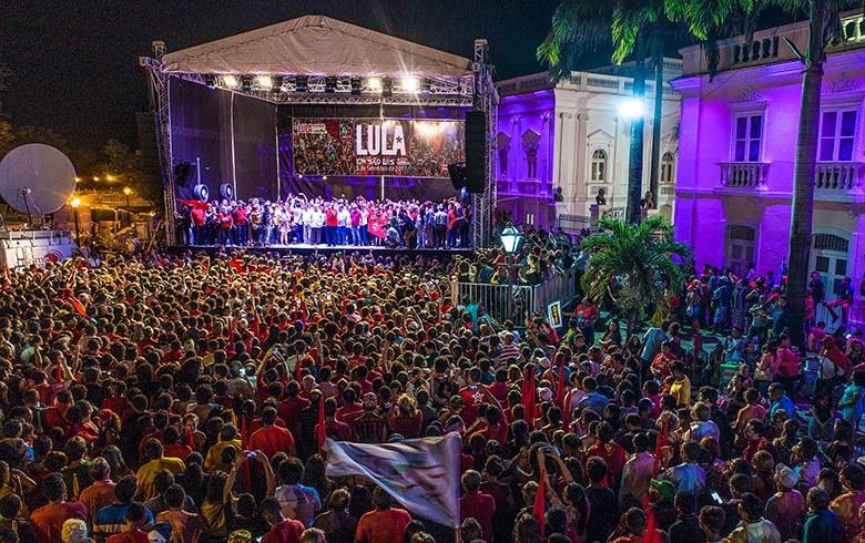 Lula em São Luiz