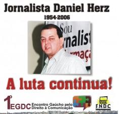 Daniel Herz homenagem