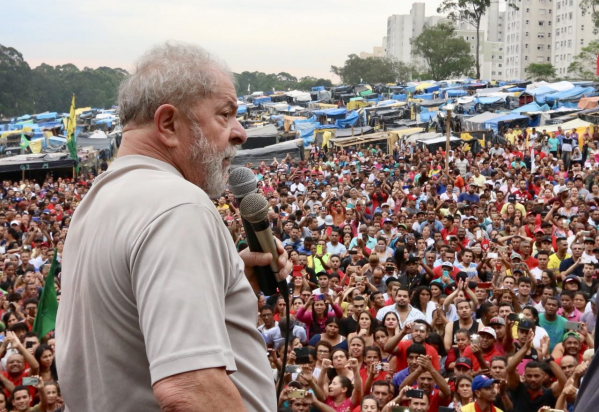 Lula na ocupação