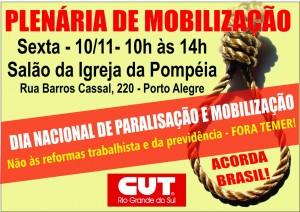 Plenária de mobilização