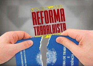 Reforma trabalhista rasga carteira