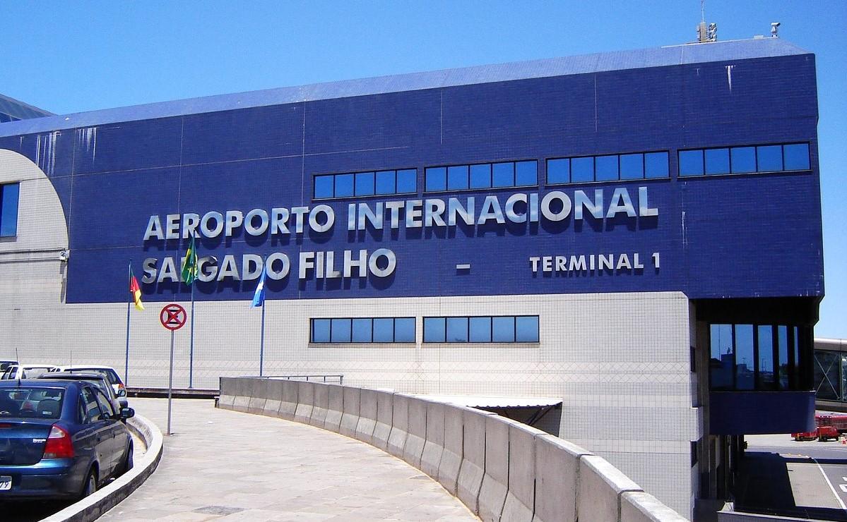 Aeroporto Internacional Salgado Filho Porto Alegre Rs Brasil : Cutrs