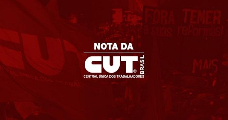 Nota da CUT1
