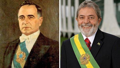 Lula e Getúlio