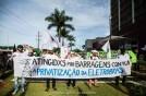 Barragens contra privatização