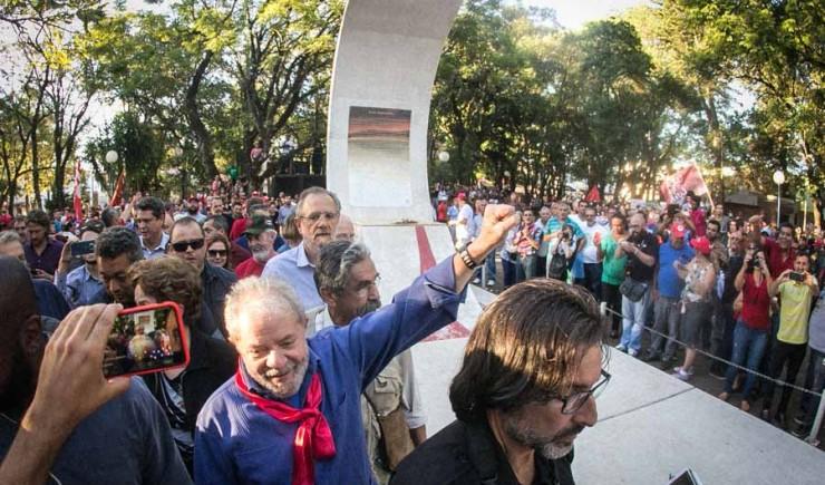 Lula com Getúlio