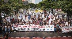 Estudantes protestam