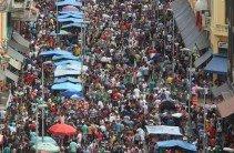 Massa na rua